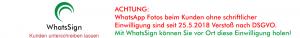 DSGVO Einwilligung für WhatsApp einholen