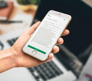 Unterlagen am Handy ansehen und gleich mit WhatsSign online signieren