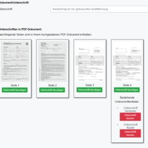 Kaufvertrag gleich online unterschreiben mit WhatsSign