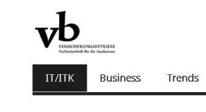 Online Unterschrift für Versicherungsmakler in Zeitschrift Versicherungsbetriebe.de